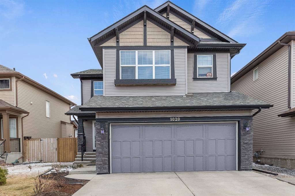 Main Photo: 1020 Brightoncrest Green SE in Calgary: New Brighton Detached for sale : MLS®# A1097905