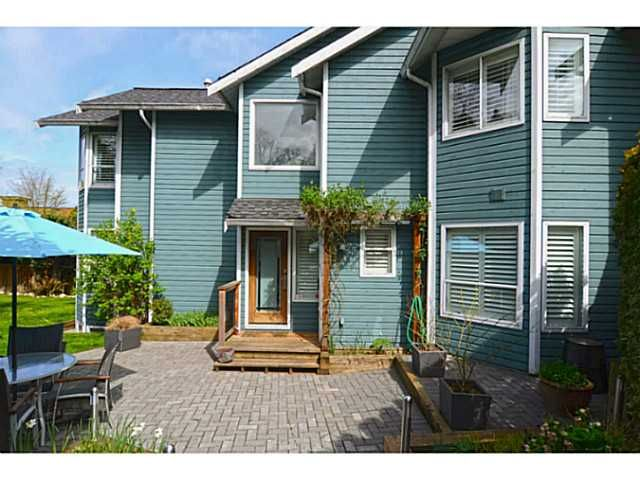 Main Photo: 1289 WOLFE Avenue in Vancouver: Fairview VW Townhouse for sale (Vancouver West)  : MLS®# V1059138