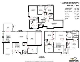 Photo 20: 1550 WINSLOW AVENUE in Coquitlam: Central Coquitlam House for sale : MLS®# R2197643