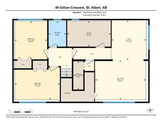 Photo 39: 49 GILLIAN Crescent: St. Albert House for sale : MLS®# E4263225