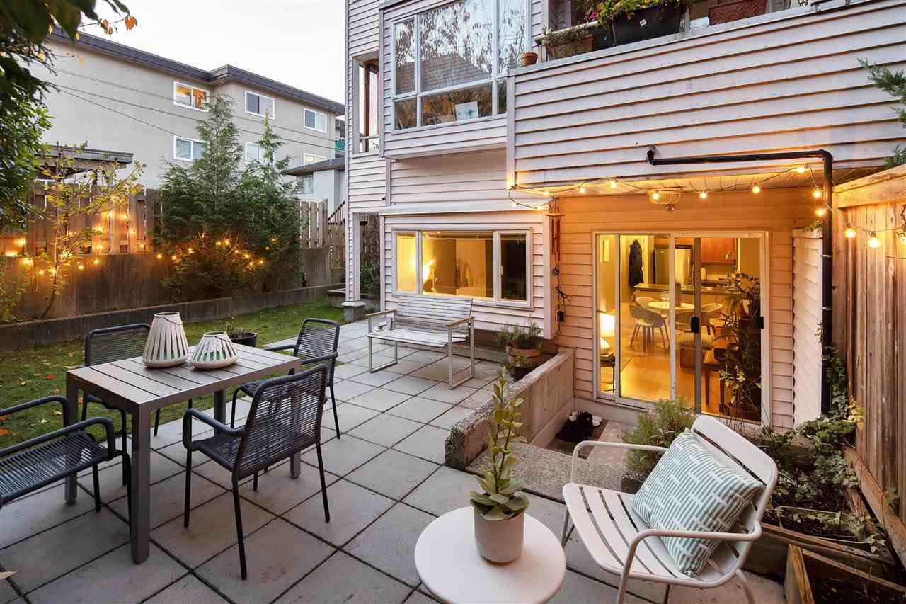 """Photo 1: Photos: 102 788 E 8TH Avenue in Vancouver: Mount Pleasant VE Condo for sale in """"Chelsea Court"""" (Vancouver East)  : MLS®# R2515993"""