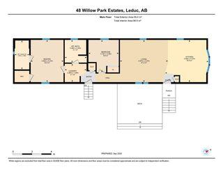 Photo 28: 48 Willow Park Estates: Leduc Mobile for sale : MLS®# E4214831