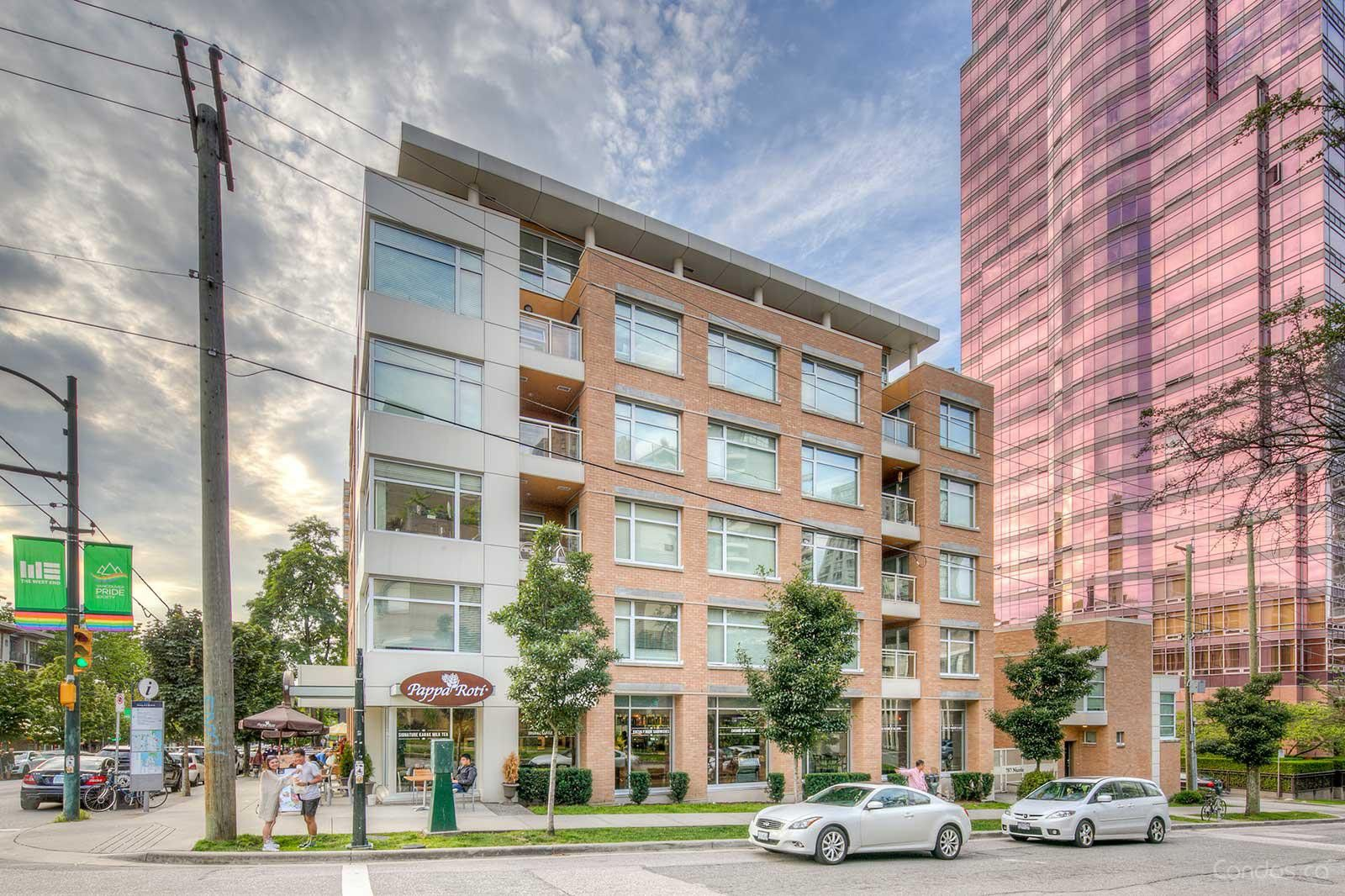 Main Photo: 787 Nicola Street in Vancouver: West End NW Land Commercial for sale (Vancouver West)