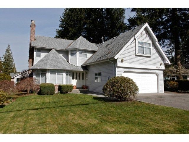"""Main Photo: 20197 42ND Avenue in Langley: Brookswood Langley House for sale in """"BROOKSWOOD"""" : MLS®# F1447063"""