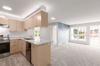 """Photo 1: 214 2891 E HASTINGS Street in Vancouver: Hastings Sunrise Condo for sale in """"PARK RENFREW"""" (Vancouver East)  : MLS®# R2573946"""