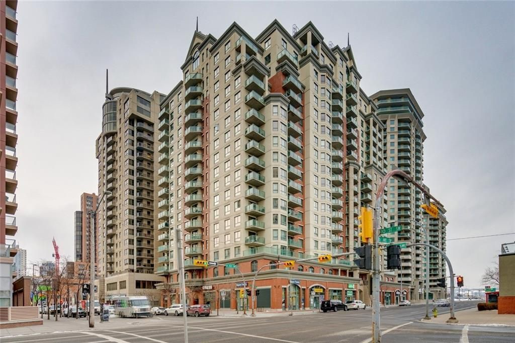 Main Photo: 1618 1111 6 Avenue SW in Calgary: Downtown West End Apartment for sale : MLS®# C4280919