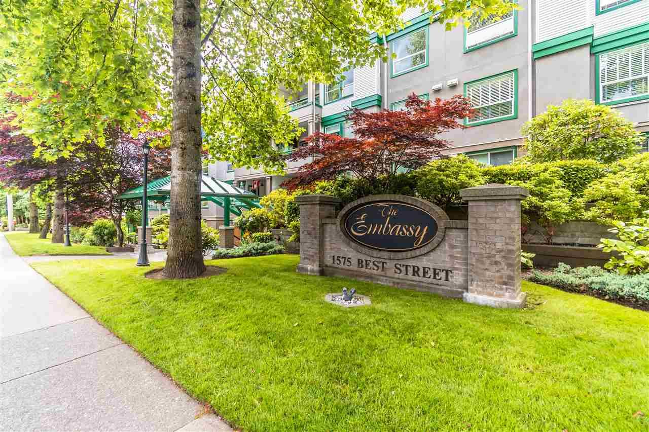"""Main Photo: 311 1575 BEST Street: White Rock Condo for sale in """"The Embassy"""" (South Surrey White Rock)  : MLS®# R2591761"""