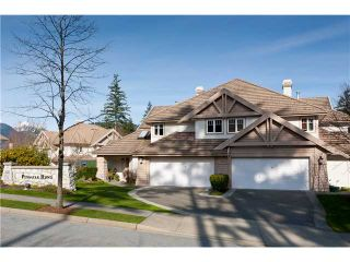 """Photo 1: 6 3405 PLATEAU Boulevard in Coquitlam: Westwood Plateau Townhouse for sale in """"PINNACLE RIDGE"""" : MLS®# V883094"""