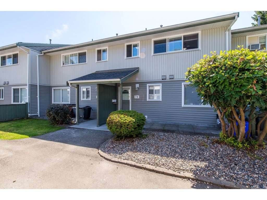 Main Photo: 74 45185 WOLFE Road in Chilliwack: Chilliwack W Young-Well Townhouse for sale : MLS®# R2541330