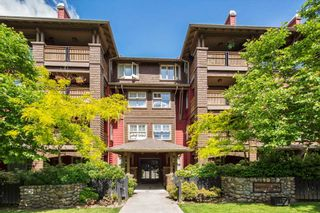 "Photo 1: 305 675 PARK Crescent in New Westminster: GlenBrooke North Condo for sale in ""WINCHESTER"" : MLS®# R2274129"