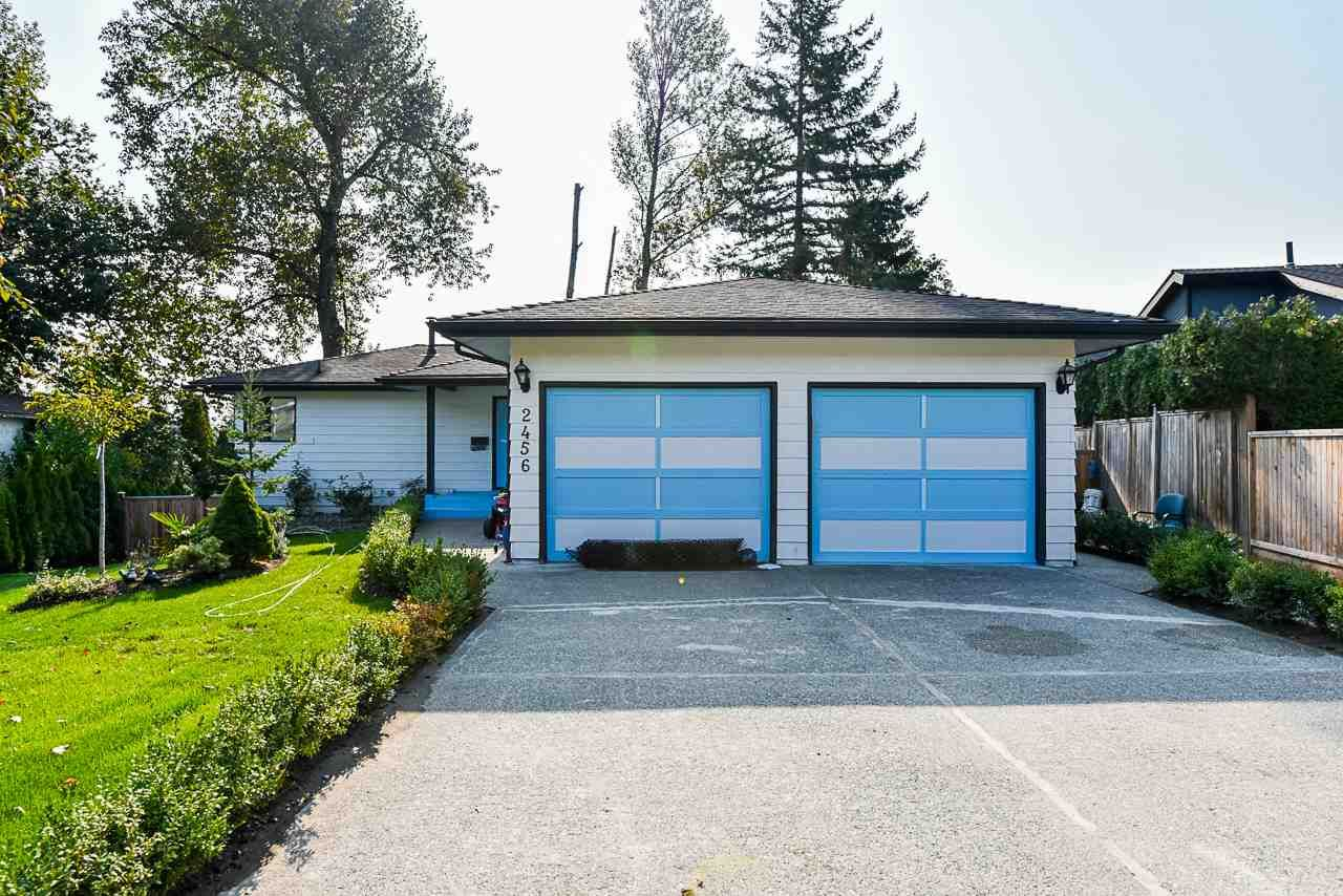 Main Photo: 2456 SUNNYSIDE PLACE in Abbotsford: Abbotsford West House for sale : MLS®# R2509174