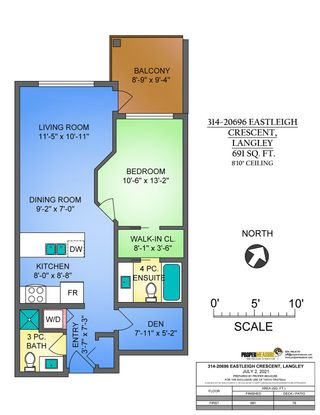 """Photo 16: 314 20696 EASTLEIGH Crescent in Langley: Langley City Condo for sale in """"The Georgia"""" : MLS®# R2597819"""