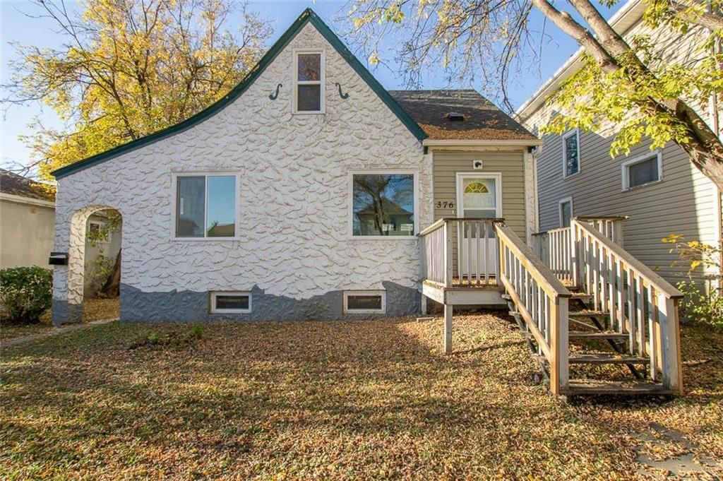 Main Photo: 376 Cathedral Avenue in Winnipeg: North End Residential for sale (4C)  : MLS®# 202124550