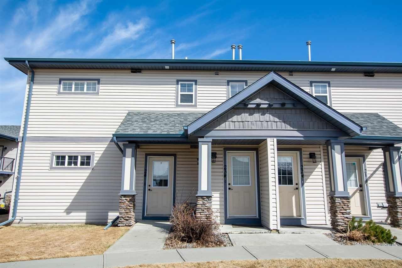 Main Photo: 23 2565 HANNA Crescent in Edmonton: Zone 14 Townhouse for sale : MLS®# E4237895