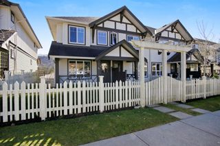 """Photo 1: 55 4401 BLAUSON Boulevard in Abbotsford: Abbotsford East Townhouse for sale in """"SAGE AT AUGUSTON"""" : MLS®# R2252535"""