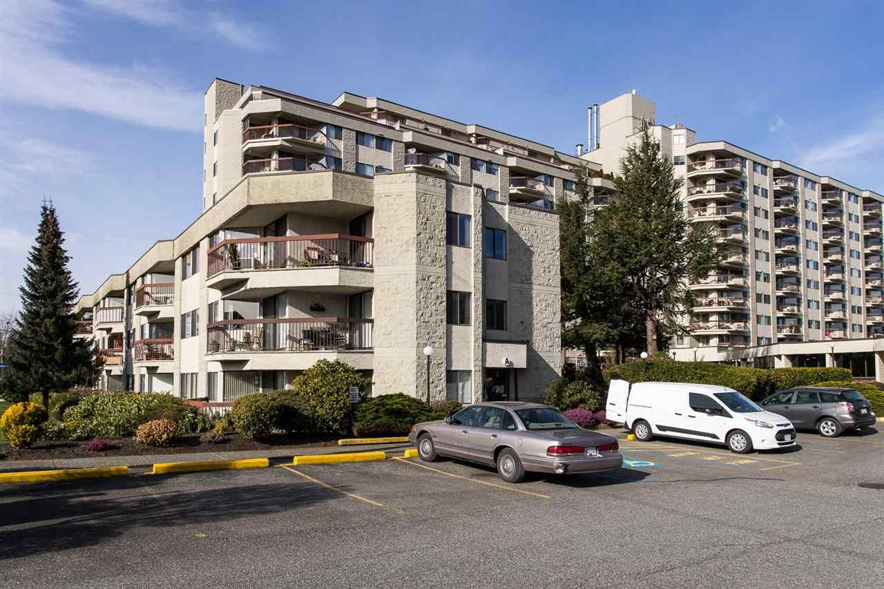 "Main Photo: 110 31955 OLD YALE Road in Abbotsford: Abbotsford West Condo for sale in ""Evergreen Village"" : MLS®# R2539321"