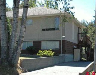"Main Photo: 11419 - 11421 142ND ST in Surrey: Bolivar Heights Duplex for sale in ""BOLIVAR"" (North Surrey)  : MLS®# F2513925"