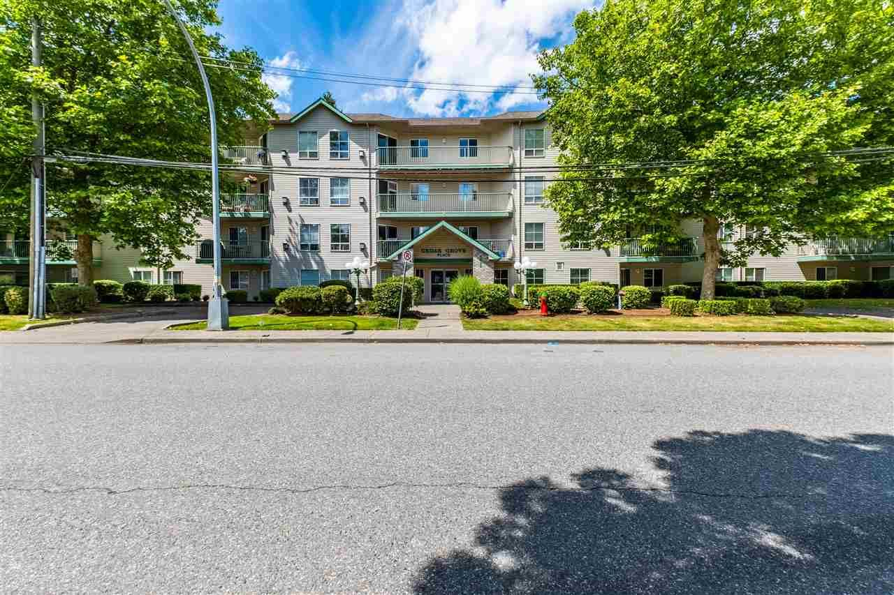 """Main Photo: 206 2435 CENTER Street in Abbotsford: Abbotsford West Condo for sale in """"Cedar Grove Place"""" : MLS®# R2592183"""
