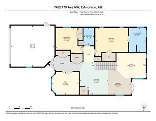 Photo 43: 7432 179 Avenue in Edmonton: Zone 28 House for sale : MLS®# E4236126
