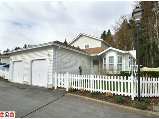 "Photo 1: 1 6537 138TH Street in Surrey: East Newton Townhouse for sale in ""CHARLESTON GREEN"" : MLS®# F1006130"