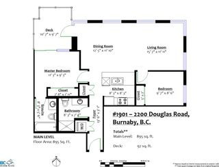 """Photo 35: 1901 2200 DOUGLAS Road in Burnaby: Brentwood Park Condo for sale in """"AFFINITY"""" (Burnaby North)  : MLS®# R2457772"""