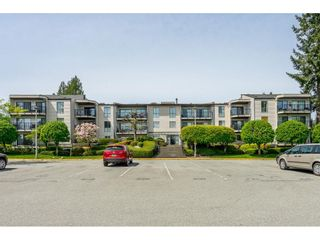 """Photo 1: 213 9952 149 Street in Surrey: Guildford Condo for sale in """"Tall Timbers"""" (North Surrey)  : MLS®# R2366920"""