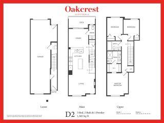 """Photo 2: 43 11556 72A Avenue in Delta: Scottsdale Townhouse for sale in """"Oakcrest"""" (N. Delta)  : MLS®# R2590002"""