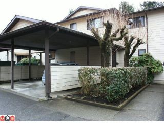 """Photo 1: 20 2050 GLADWIN Road in Abbotsford: Central Abbotsford Townhouse for sale in """"COMPTON GREEN"""" : MLS®# F1108330"""