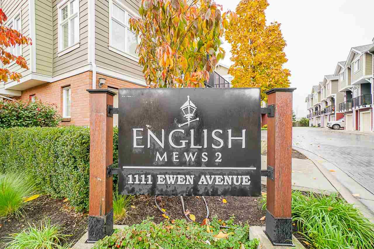 "Main Photo: 27 1111 EWEN AVENUE Avenue in New Westminster: Queensborough Townhouse for sale in ""ENGLISH MEWS"" : MLS®# R2517204"