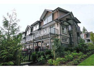 "Photo 1: 147 1460 SOUTHVIEW Street in Coquitlam: Burke Mountain Townhouse for sale in ""CEDAR CREEK"" : MLS®# V900881"