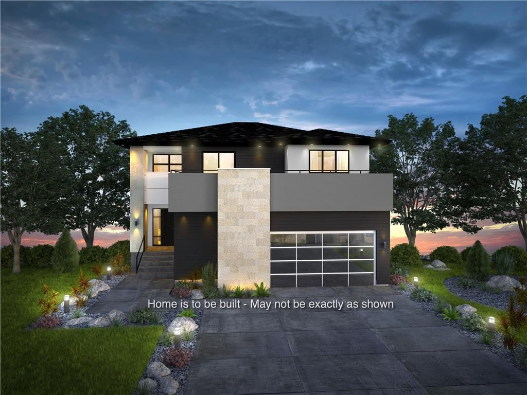 Home is to be built and may not be exactly as shown.