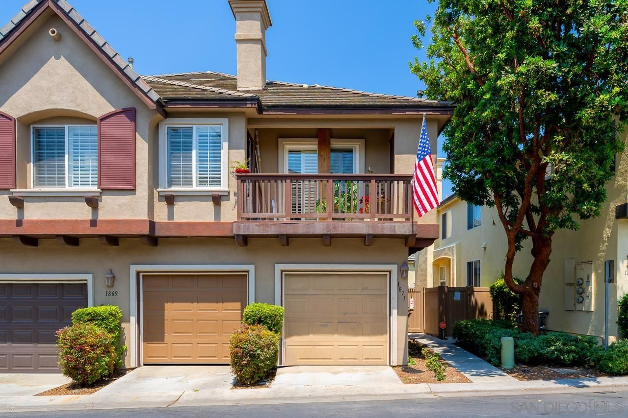 Main Photo: CHULA VISTA Condo for sale : 2 bedrooms : 1871 Toulouse Dr