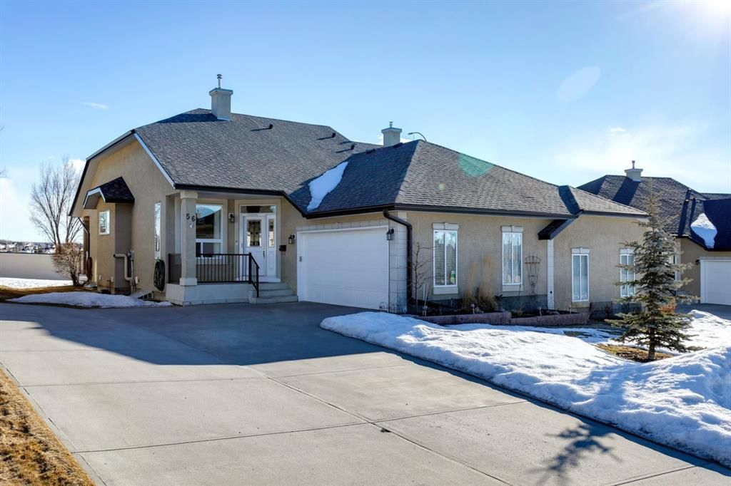 Main Photo: 56 Tuscany Village Court NW in Calgary: Tuscany Semi Detached for sale : MLS®# A1079076