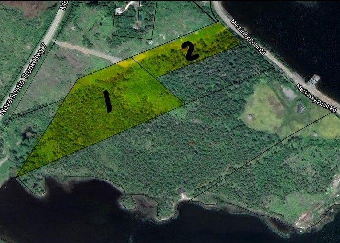 Main Photo: Lot 1 Highway 7 in Spanish Ship Bay: 303-Guysborough County Vacant Land for sale (Highland Region)  : MLS®# 202101654