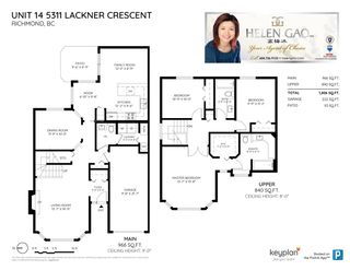 """Photo 20: 14 5311 LACKNER Crescent in Richmond: Lackner Townhouse for sale in """"KEY WEST"""" : MLS®# R2377798"""