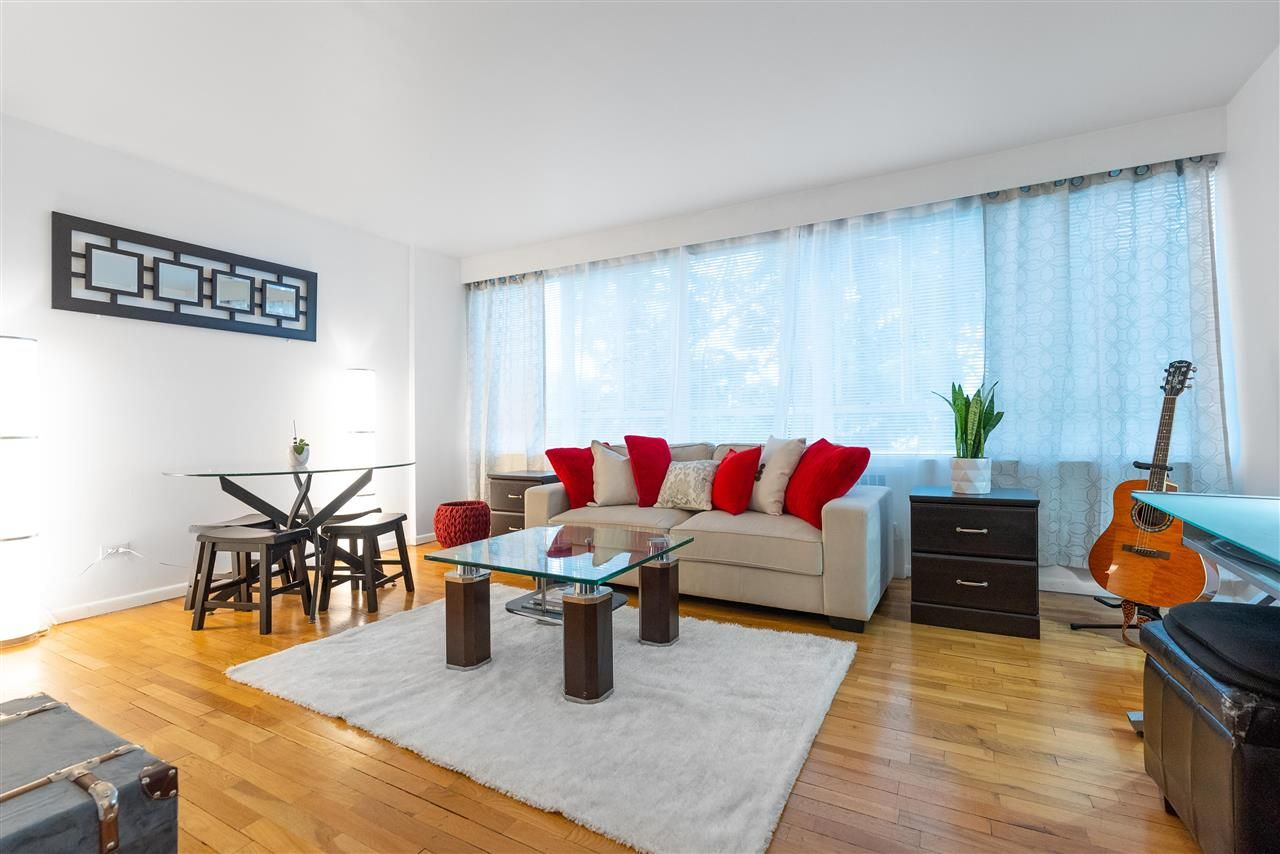 """Main Photo: 104 1445 MARPOLE Avenue in Vancouver: Fairview VW Condo for sale in """"Hycroft Towers"""" (Vancouver West)  : MLS®# R2554611"""