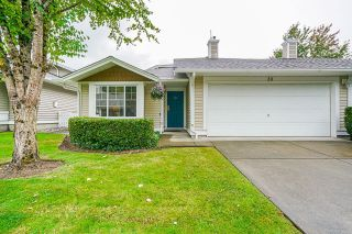 """Main Photo: 39 6885 184 Street in Surrey: Clayton Townhouse for sale in """"Creekside at Clayton Hill"""" (Cloverdale)  : MLS®# R2618159"""