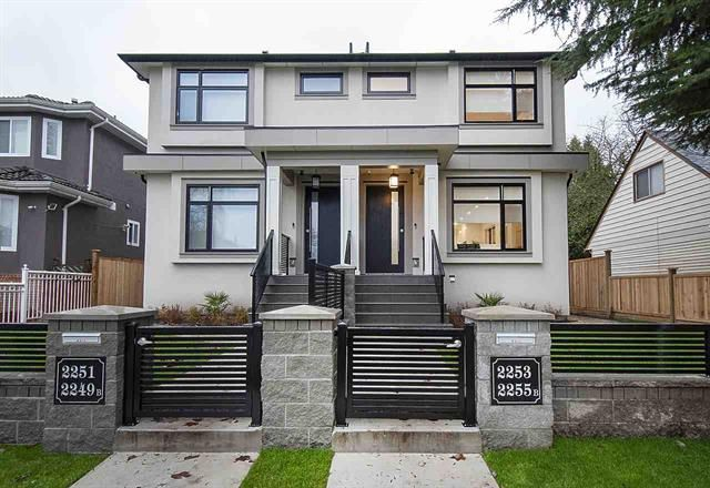 Main Photo: 2253 Bonnyvale Avenue in Vancouver: Fraserview VE 1/2 Duplex for sale (Vancouver East)  : MLS®# R2523568