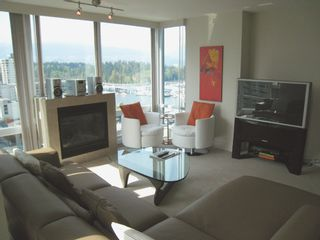 Photo 1: 1404 499 BROUGHTON STREET in DENIA @ Waterfront Place: Home for sale