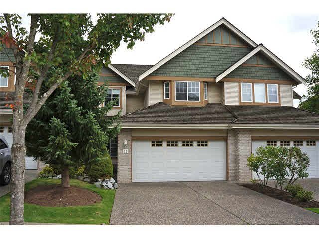 """Main Photo: 11 1765 PADDOCK Drive in Coquitlam: Westwood Plateau Townhouse for sale in """"WORTHING GREEN"""" : MLS®# V1091636"""