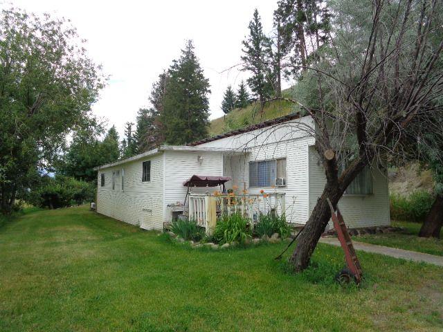 Main Photo: 2553 Hook Road in Kamloops: Monte Creek Manufactured Home for sale : MLS®# 140270