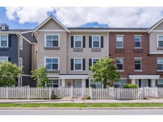 """Photo 1: 105 32789 BURTON Avenue in Mission: Mission BC Townhouse for sale in """"SILVER CREEK"""" : MLS®# R2582056"""