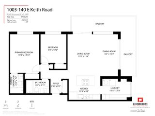 """Photo 32: 1003 140 E KEITH Road in North Vancouver: Central Lonsdale Condo for sale in """"The Keith 100"""" : MLS®# R2625765"""
