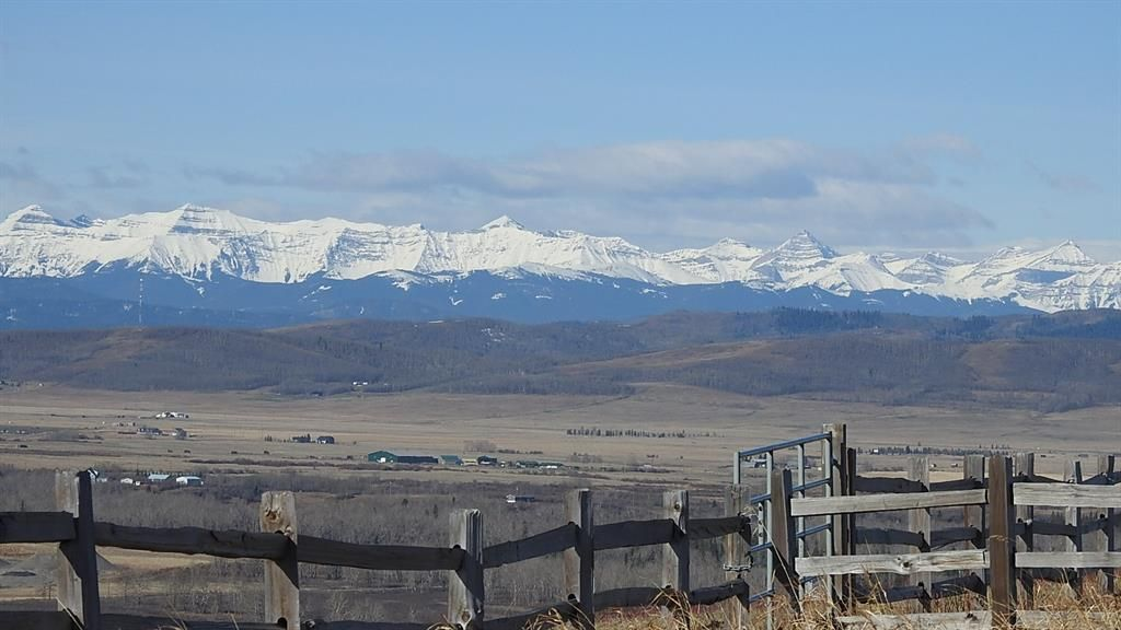 Main Photo: SW 36-20-3W5: Rural Foothills County Residential Land for sale : MLS®# A1101413