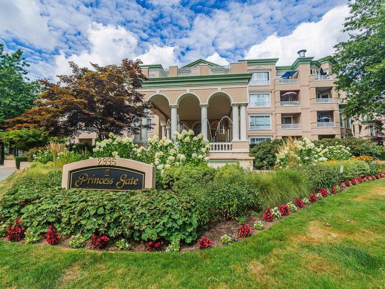 """Main Photo: 406 2995 PRINCESS Crescent in Coquitlam: Canyon Springs Condo for sale in """"Princess Gate"""" : MLS®# R2608568"""