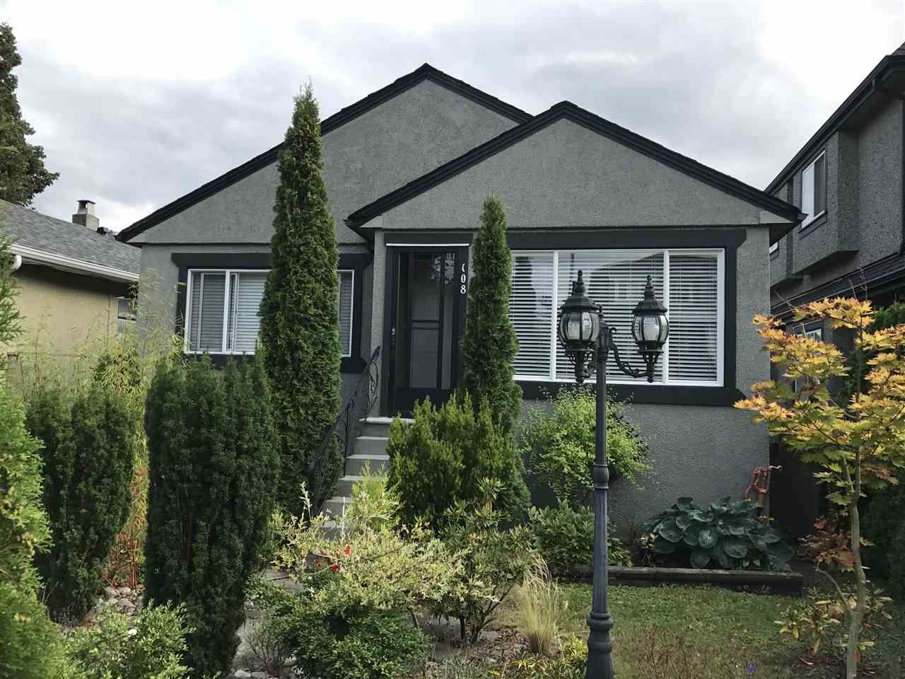 Main Photo: 108 W 45TH Avenue in Vancouver: Oakridge VW House for sale (Vancouver West)  : MLS®# R2395956