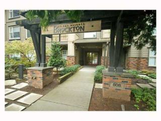 "Photo 1: 116 808 SANGSTER Place in New Westminster: The Heights NW Condo for sale in ""THE BROCKTON"" : MLS®# V814914"