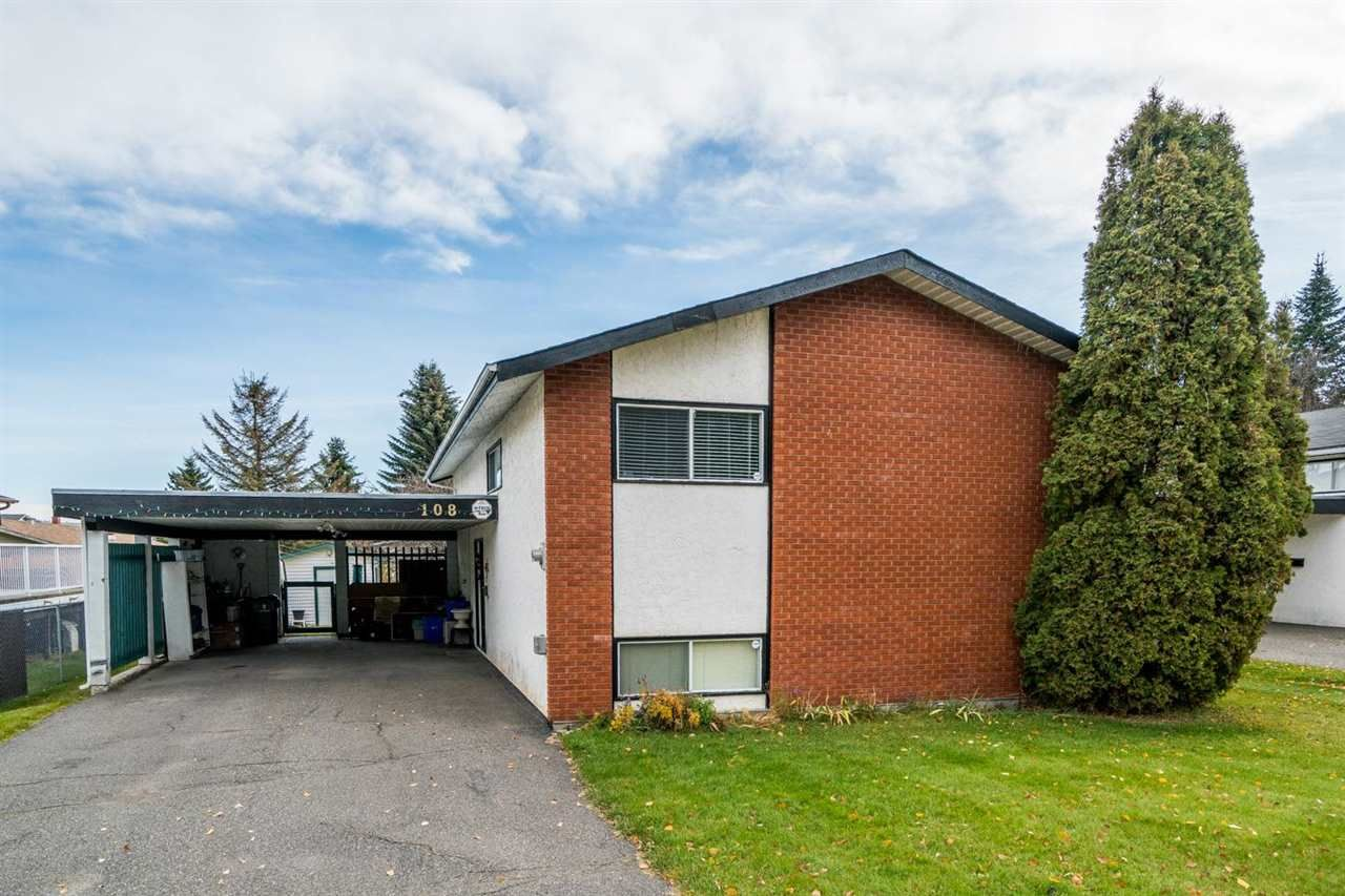 Main Photo: 108 THACKER Crescent in Prince George: Heritage House for sale (PG City West (Zone 71))  : MLS®# R2581162