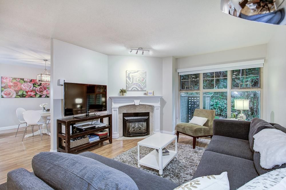 """Main Photo: 45 65 FOXWOOD Drive in Port Moody: Heritage Mountain Townhouse for sale in """"Forest Hill"""" : MLS®# R2384266"""