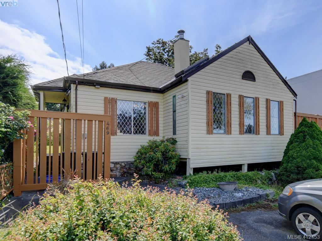 Main Photo: 469 Sturdee St in VICTORIA: Es Esquimalt House for sale (Esquimalt)  : MLS®# 817896